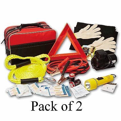 Amazon Com Auto Safety Kit Best Emergency Supplies Bag Gear