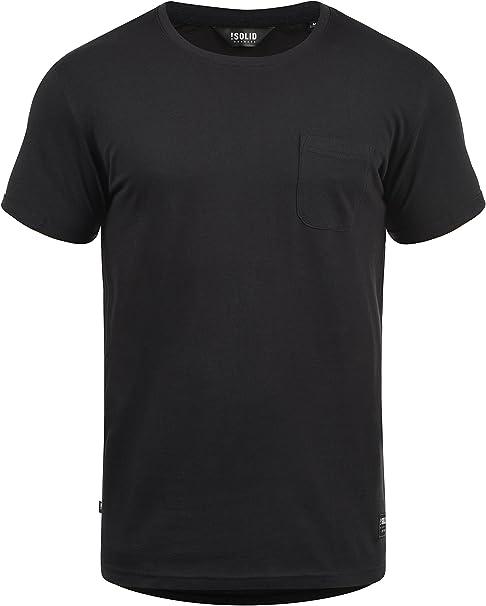 Solid Bob Camiseta Básica De Manga Corta T-Shirt para Hombre con ...