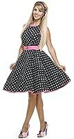 50s Polkadot Dress Adult Costume - Large