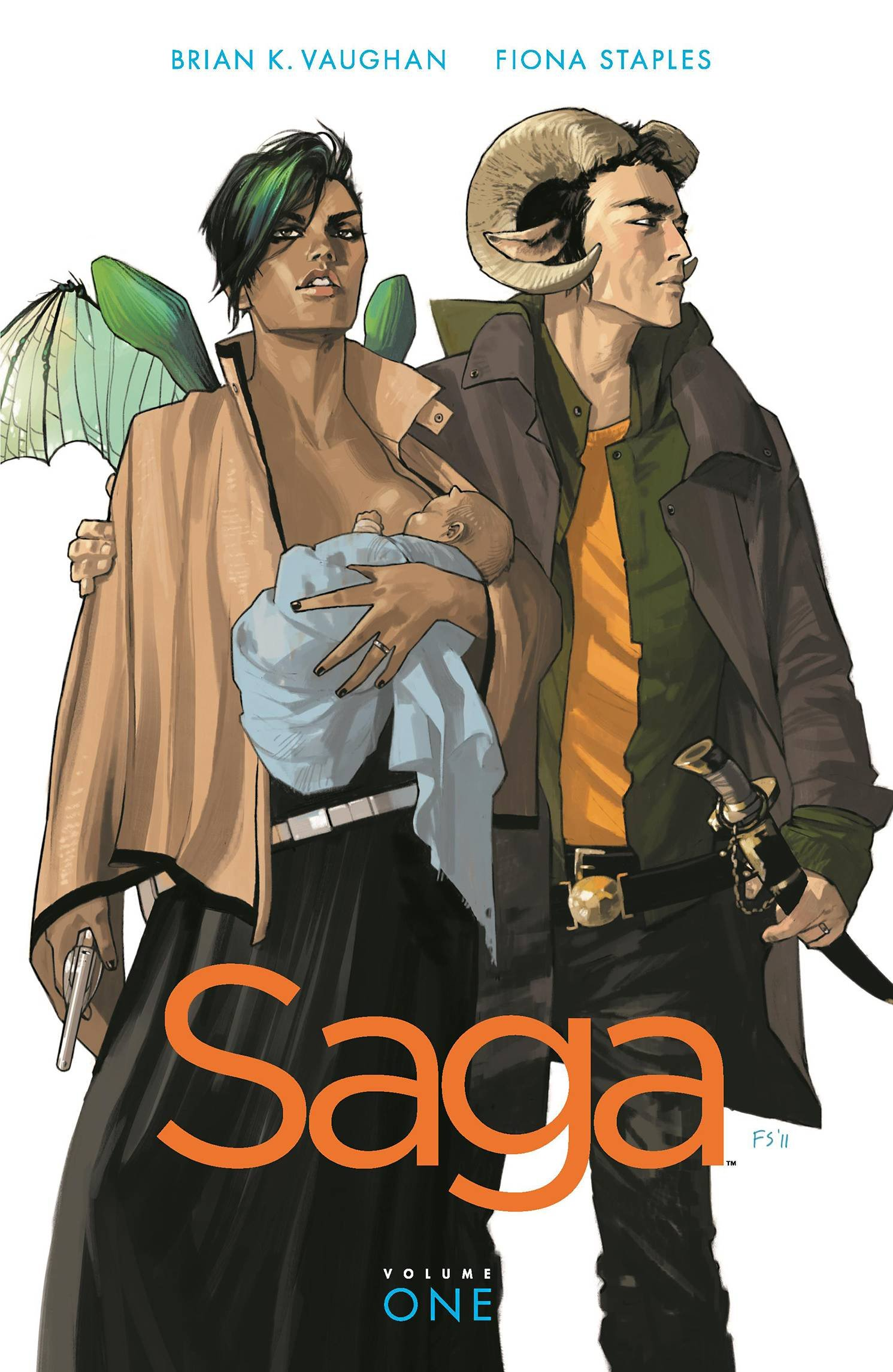 Saga: Volume 1 book cover