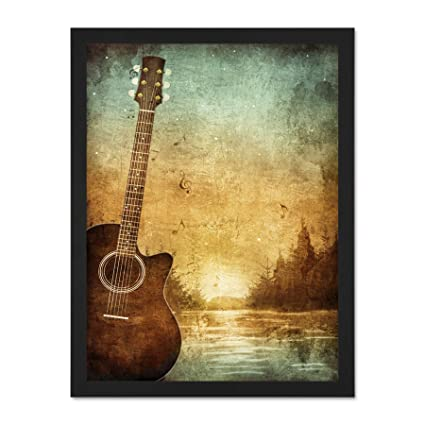 Amazon Com Doppelganger33 Ltd Painting Drawing Design Guitar
