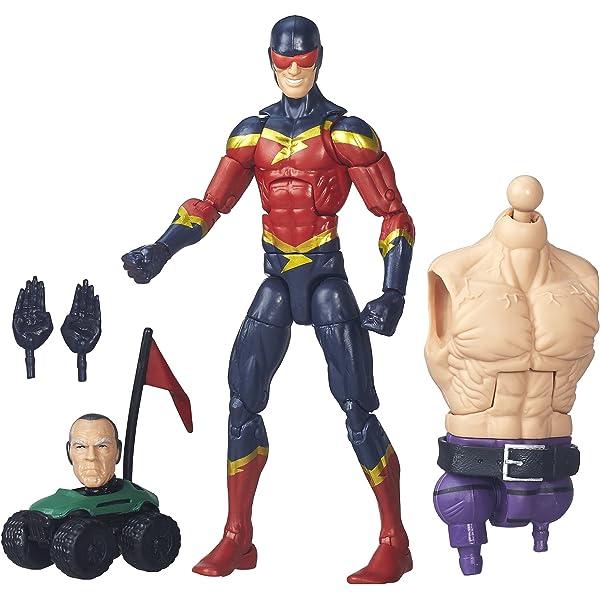 Speed Demon w//Build-a-Figure Marvel Legends Amazing Spider-Man ABSORBING MAN