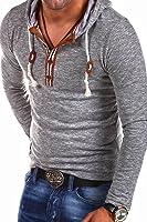 Carisma Longsleeve Hoodie mit Knopfleiste T-Shirt 3136