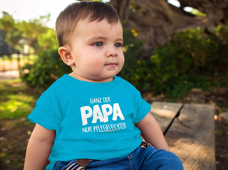 MoonWorks/® Baby T-Shirt Kurzarm Babyshirt S/ü/ß wie Mama Stinkt wie Papa Spruch lustig Jungen Shirt