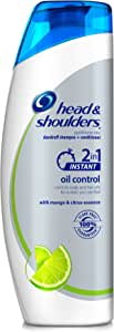 Head and Shoulders Instant Oil Control 2-in-1 Dandruff Shampoo Plus Condition
