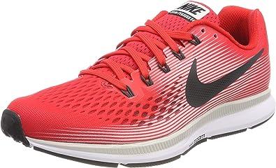 Nike Air Zoom Pegasus 34, Zapatillas de Running para Hombre, Rojo ...