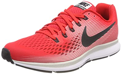 innovative design 31686 6a808 Nike Men s Air Zoom Pegasus 34 Running Shoes (8.5, Speed RED Anthracite-