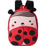 Cute Small Toddler Kids Backpack Peluche Animal Cartoon Mini borsa per bambini per Neonata Età ragazzo 1-3 anni