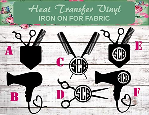 Stylist Shirt Hair Stylist Shirt Hair Dresser Iron On Love Hair Iron On Hair Salon Iron Scissor Iron On Hair Iron On Stylist Iron On