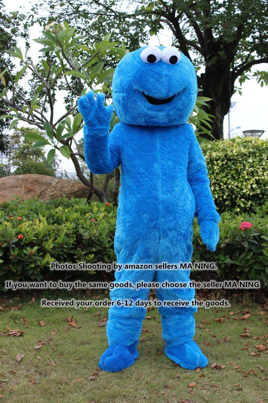 Barrio Sésamo azul Monstruo de las galletas de mujer traje de baño ...