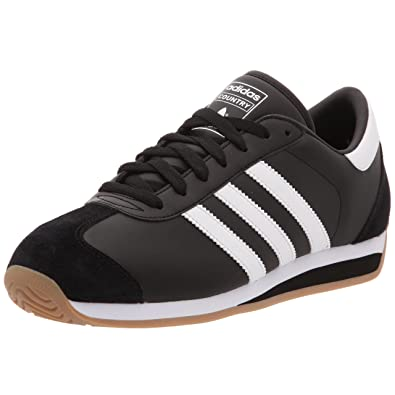 timeless design 51068 dd03b adidas Country II Men Fashion Trainer Black Size 9 UK