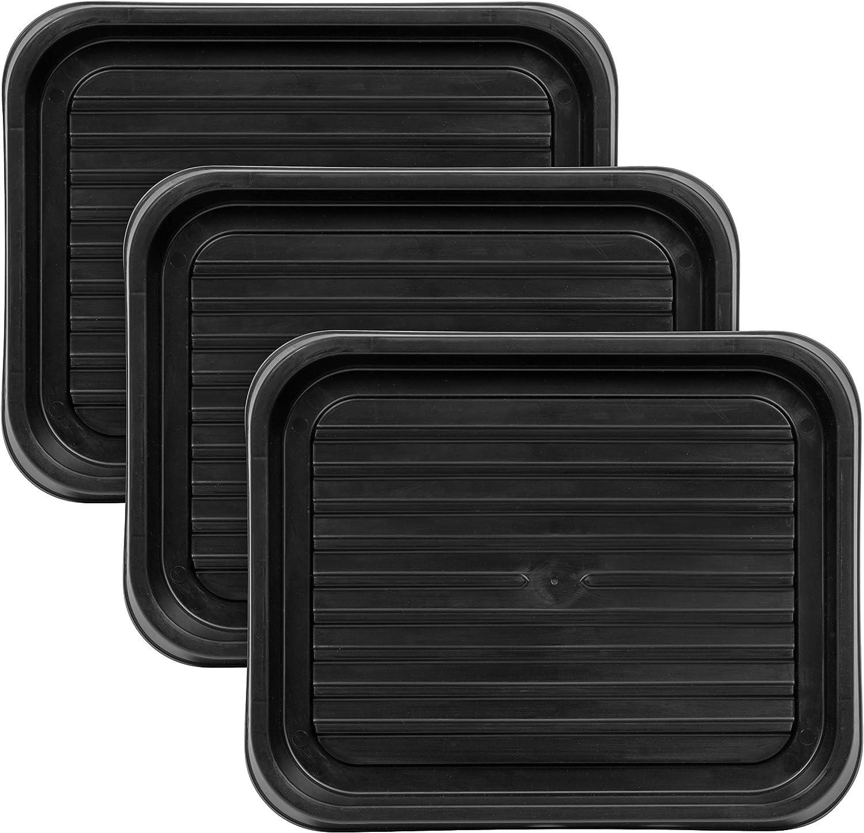 IRIS USA SHT-S Shoe Tray, Small, Black