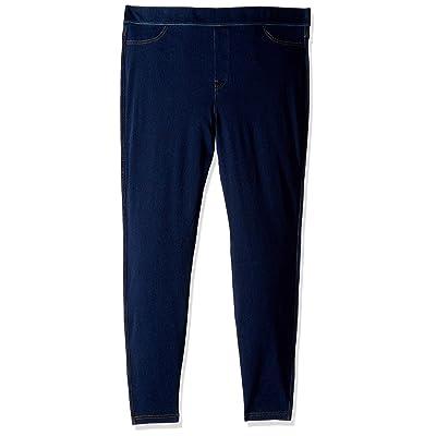 No nonsense Women's Classic Indigo Denim Jean Leggings: Clothing