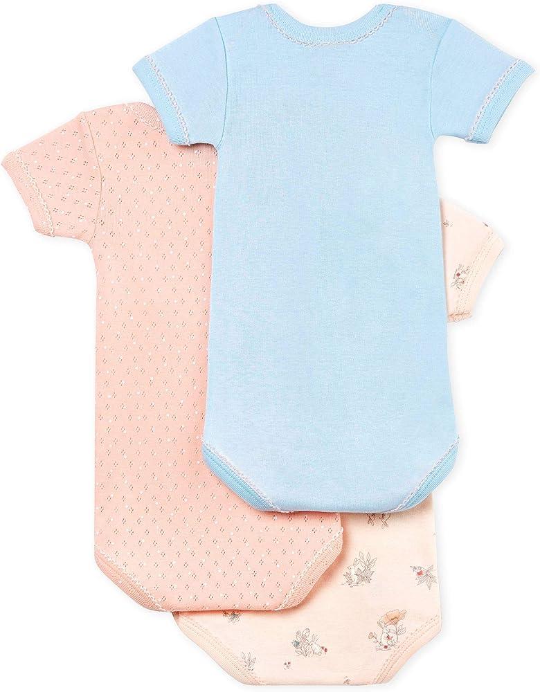 Petit Bateau Baby-M/ädchen Formender Body