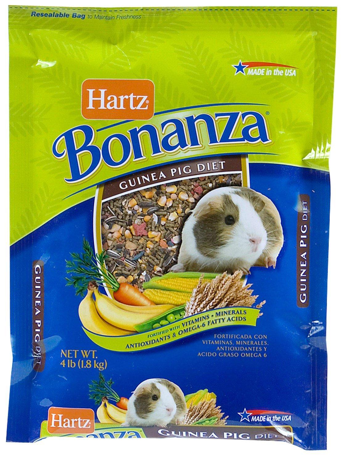 Amazon.com: Hartz 97614 4 Lb NutritionTM BonanzaTM Guinea Pig Gourmet Diet