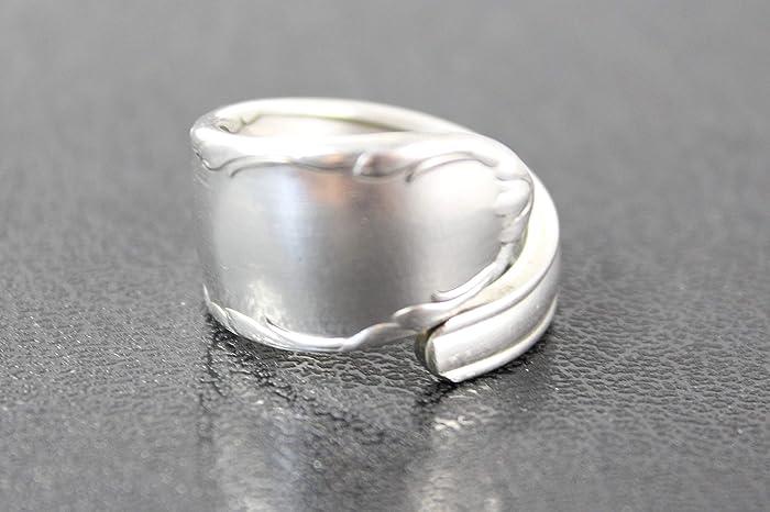 Besteck Schmuck Ring Ca 58 185 Ring Aus Besteck Amazonde