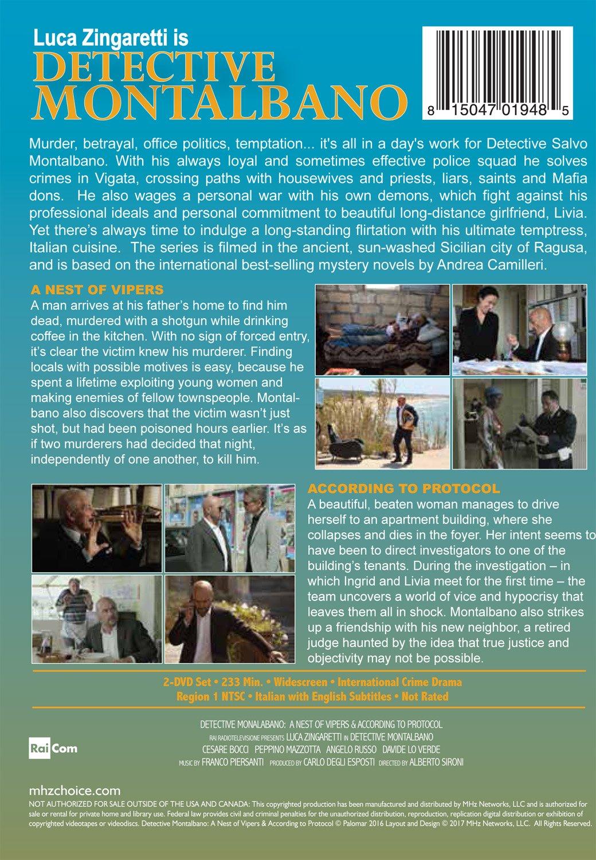 Amazon.com: Detective Montalbano: Episodes 29 & 30: Luca Zingaretti ...