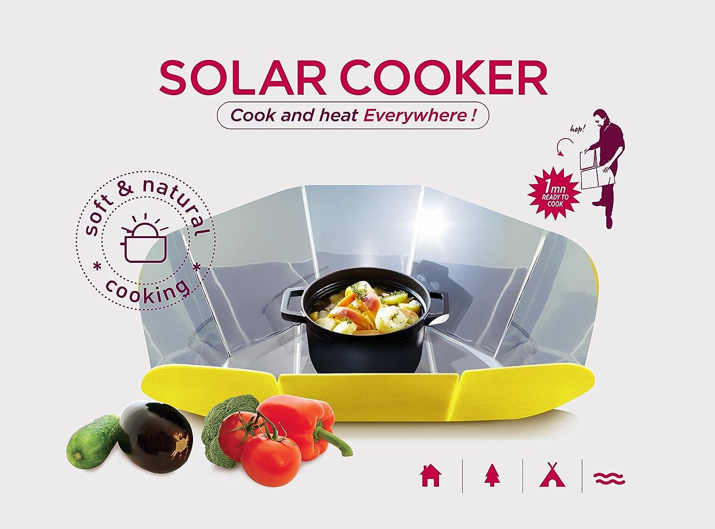IDCOOK Cocotte de Cuisson Solaire COOKUP
