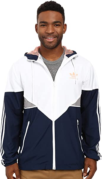 0e068ead20f Adidas Skateboarding Men's Premiere Jacket Collegiate Navy/White/Sun Glow  Outerwear