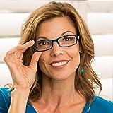 Reading Glasses 3.75 2 Black Tortoise Blue Fashion