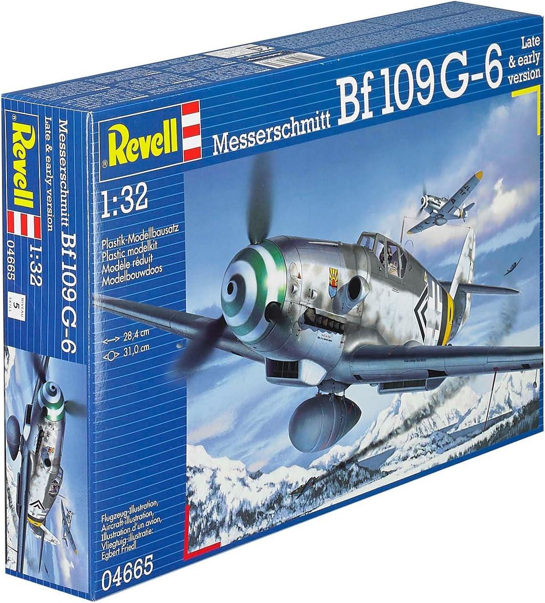 Revell 04665 Messerschmitt Bf109 G-6 Plastic Model Kit