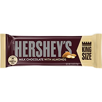 Hershey Almond Chocolate Bar