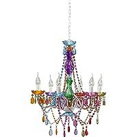 Kare Design Lámpara tipo araña, multicolor, 55 x 55 x 70 cm