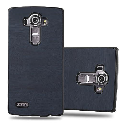 6 opinioni per Cadorabo- TPU Hard Cover in Ottica di Legno per LG G4- Case Cover Involucro