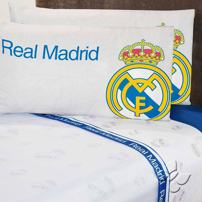 Club Real Madrid Completeシートセット ツイン ホワイト B01LKH2E0Kツイン