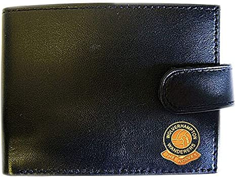 Wolverhampton Wanderers Football Club Genuine Leather Wallet
