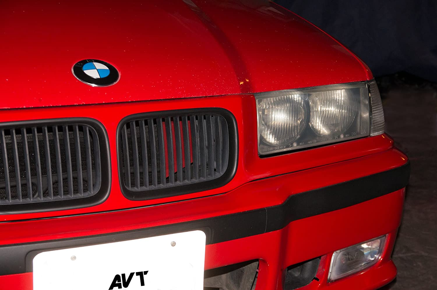 AVT Air Intake Scoop e36 BMW  1991-1999  Red 318i, 318Ti, 318is, 325i