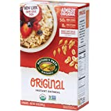 Nature's Path Instant Original Oatmeal, Healthy, Organic & Sugar Free, 8 Pouches per Box, 14 Ounces (Pack of 6)