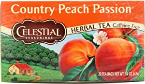 Celestial Seasonings Natural Herb Tea, Country Peach Passion, 20 Tea Bags by Celestial Seasonings [Foods]