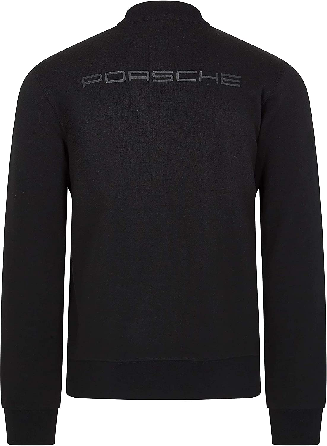 Porsche Motorsport Mens Black Zip Sweatshirt