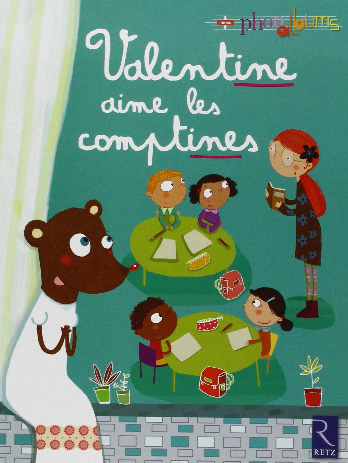 Valentine Aime Les Comptines Patricia Vinciguerra Agnès Aynaud
