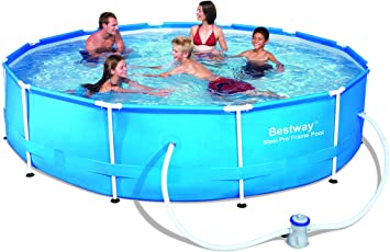 Bestway 56416 - Piscina Desmontable Tubular Steel Pro Max ...