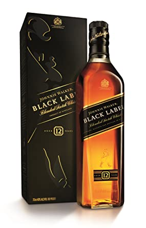 Johnnie Walker Black Label Blended Scotch Whisky 70cl Amazon