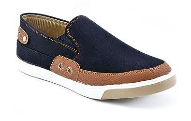 get online wholesale dealer new arrival Boysons Men Choice Smart Canvas Shoes-7 Black: Buy Online at ...