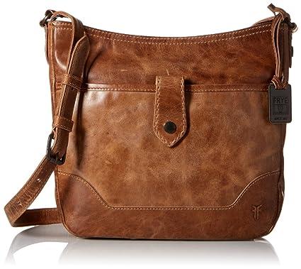 8ea59500c6164d Amazon.com: Frye Melissa Button Crossbody Bag, Cognac, One Size: Shoes