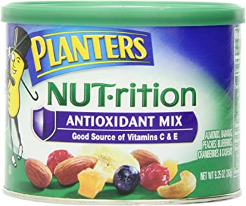 2-Pack Planters 9.25 Ounce Canister Nut.rition Antioxidant Mix