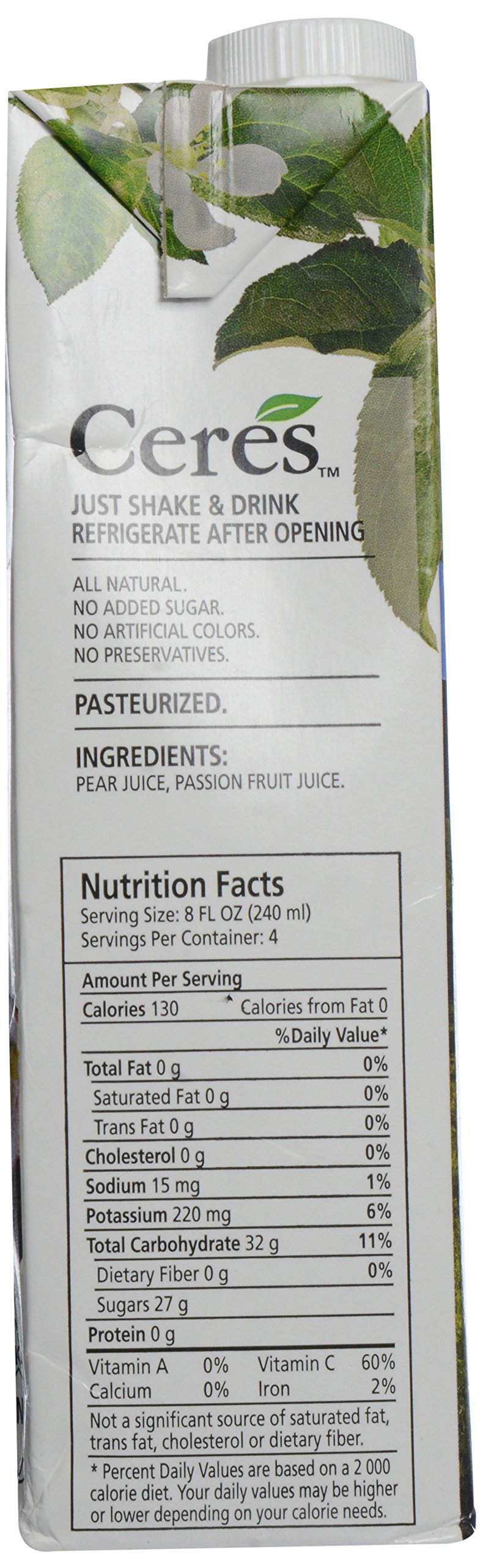Ceres Juices Passion Fruit Juice, 33.8 oz by Ceres (Image #4)
