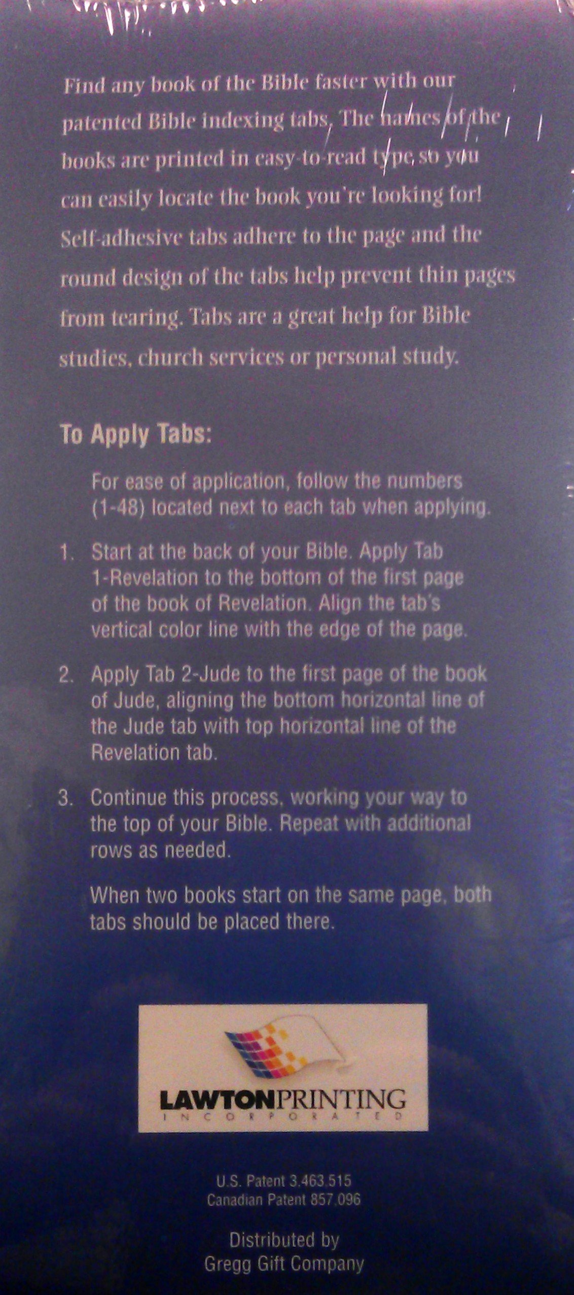 bible tabs self adhesive 9780012467497 amazon com books