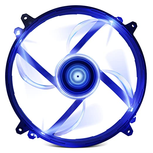 2 opinioni per NZXT FZ 200mm LED Ventola di Raffreddamento, Blu