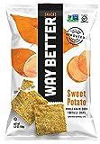 Way Better Snacks Tortilla Chips, Sweet Potato, 5.5 Ounce