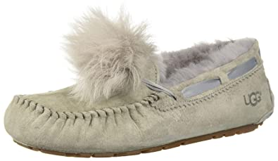 7b9f40f0102 UGG Women's W Dakota Pom Slipper