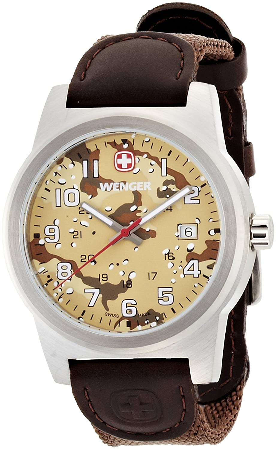 Wenger Field Classic Analog Brown Dial Men's Watch