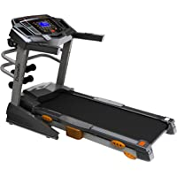 Durafit Heavy Multifunction 2.5 HP, Peak 5.0 HP Motorized Foldable with Massager Treadmill for Home Use