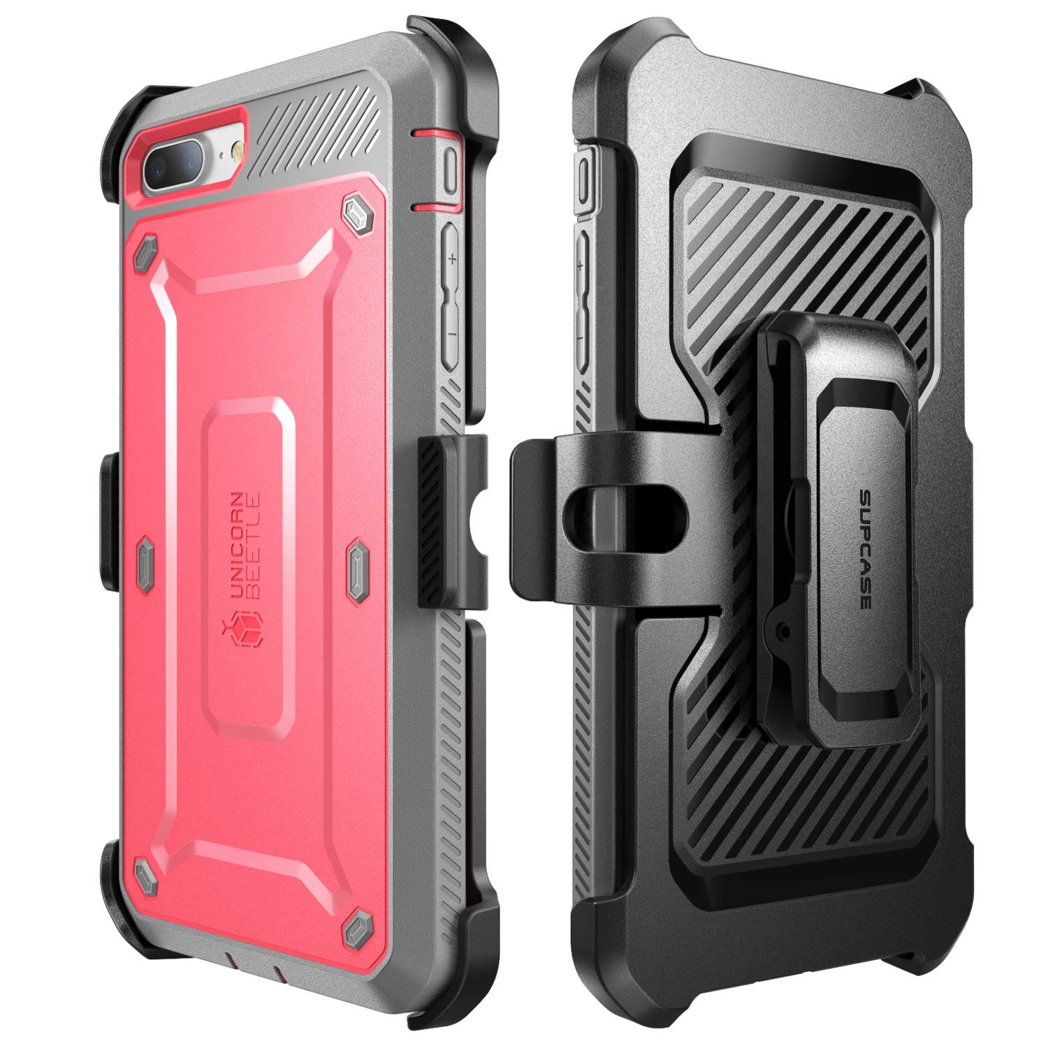 78fbbee60 SUPCASE Unicorn Beetle Pro Series Case Designed for iPhone 7 Plus, iPhone 8  Plus Case, with Built-in Screen Protector Full-Body Rugged Holster Case for  ...