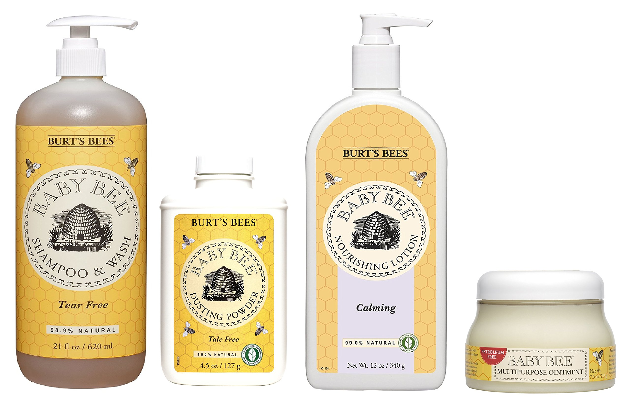 Burt's Bees Baby Bee 4 Piece Collection (Variety, 4)