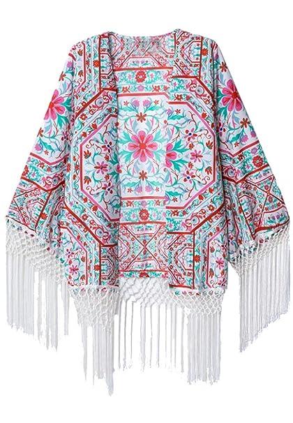 Sheinside - Camisas - Túnica - para mujer rojo medium